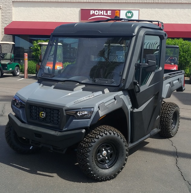 CUSHMAN HAULER 4x4 Factory Order.  Shown with Optional Content