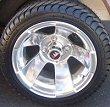 Picture of Golf Car Custom Wheels